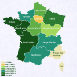 carte de la production de maïs en hectare en France